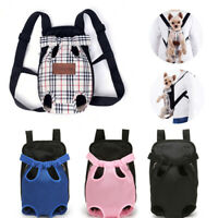 Hot Pet Dog Backpack Carrier Puppy Pouch Cat Travel Tote Front Bag With Legs Out