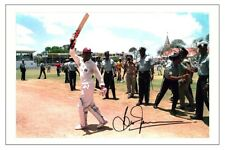 BRIAN LARA Signed Autograph WEST INDIES Cricket Signature Photo Fan Gift Print