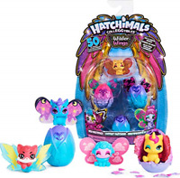 Hatchimals CollEGGtibles, Wilder Wings Multipack with 4 Hatchimals and 4 Mix and