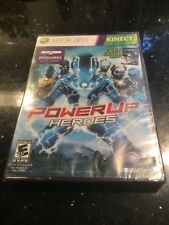 PowerUP Heroes Xbox 360 Brand New Factory Sealed