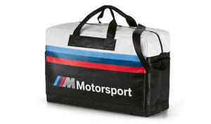 Original BMW M Motorsport Bolsa de Viaje Negro/Blanco, Viajar 80222461145