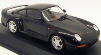 Minichamps 1/18 Scale Model Car 155 066205 - 1987 Porsche 959 - Metallic Grey