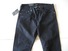 POLO RALPH LAUREN Men's Prospect Straight Dark Indigo Stretch Jeans 40x32