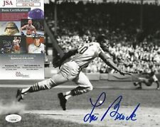 Lou Brock Signed 8x10 Photo w/ JSA COA #II87428 St. Louis Cardinals