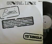 """CENTRAL LINE ~ Dont Tell Me REMIX ~ 12"""" Single PS"""