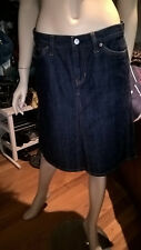GAP JEANS DENIM SKIRT SIZE 6 MADE IN INDIA NEAR NEW.