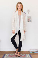 Lace Floral Regular Size Jumpers & Cardigans for Women