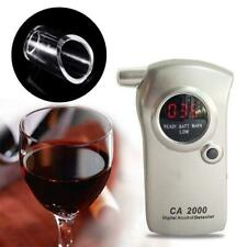 Breath Alcohol Tester Breathalyzer Blowing Nozzle For Keychain Alcohol Tester