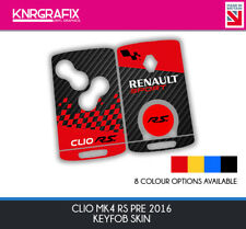 KNR0011 GT RS - CLIO MK4 KEYFOB SKIN - KEY STICKER - 8 COLOUR CHOICES