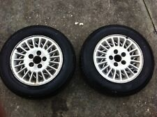 alloy wheels & tyres x 2 of ford  falcon 205/65/15 inch