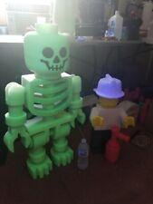 3 Foot Tall Glow-In-The Dark Skeleton 3-D Printed
