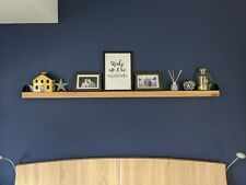 Solid Oak Picture Shelf Ledge 150cm