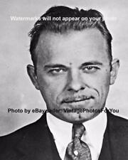 1933 Bank Robber John Dillinger Depression Era Gangster Mugshot Photo Picture