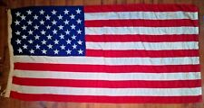 "Ex-Government/Military American Flag dated 1970. 78"" x 38"". Valley Forge Flag."
