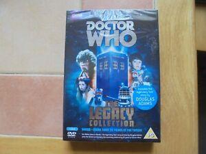 "Doctor Who - Legacy (DVD, 2013, 3-Disc Set) Tom Baker, Douglas Adams "" Shada """