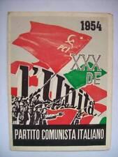 TESSERA PARTITO COMUNISTA ITALIANO 1954 (S8)