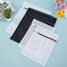Set of 4 Garment Laundry Wash Bags Underwear Bra Lingerie Protect Zippered Mesh
