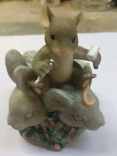 Enesco Charming Tails Mouse Rushmore