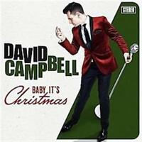 DAVID CAMPBELL Baby It's Christmas PERSONALLY SIGNED by David CD NEW