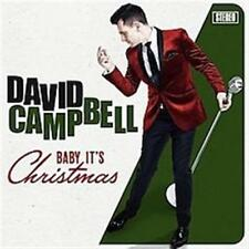 DAVID CAMPBELL Baby It's Christmas SIGNED by David (Released 26 October) CD NEW