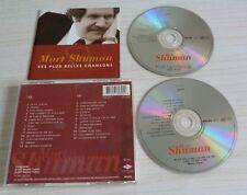 2 CD ALBUM BEST OF SES PLUS BELLES CHANSONS SHUMAN MORT 25 TITRES 1997