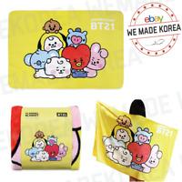 BT21 Baby Together Flannel Blanket 140 x 100cm Official K-POP Authentic Goods