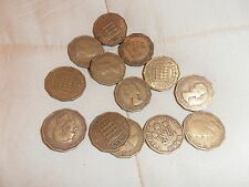 Coins - Threepenny Bit - George VI  - 4 coins as listed - C3H