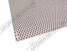 CARTA USO VARESE - DISEGNO GIGLIO MARRONE - 50x70cm - 80 g/mq - 1 FOGLIO