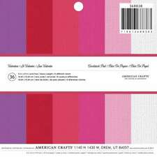 "American Crafts Cardstock Valentine's Paper Pad, 6 x 6"" - 2-Pack"