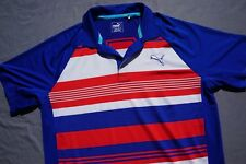 8dd9e018a5 Puma PWR Cool Casual Polo Golf Shirt. Patriotic Red