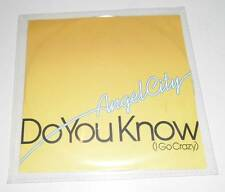 ANGEL CITY - DO YOU KNOW (I GO CRAZY) - UK 5 TRACK DJ PROMO CD SINGLE