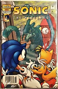 SONIC The HEDGEHOG Comic Book #83 June 2000 KNUCKLES Bagged & Boarded VF+