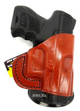 FLASH DEAL! TAGUA PD2 Brown Leather Paddle Holster - H&K P30SK Heckler Koch