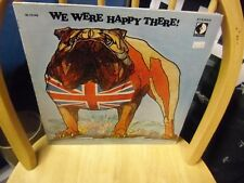 George Howe & Carl Davis We Were Happy There LP Decca Records VG+