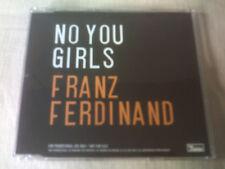 FRANZ FERDINAND - NO YOU GIRLS - UK PROMO CD SINGLE