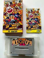 Super Famicom SUPER BOMBERMAN boxed SFC JAPAN bomberman Japan inport Nintendo