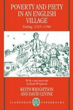 Poverty and Piety in an English Village: Terling, 1525-1700 (Clarendon Paperbac