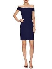 NWT Alexia Admor Off The Shoulder Bodycon Dress in Astral Aura Blue, Medium $200