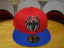 The Amazing Spider-Man Two Tone Hero Marvel Comics New Era Hat Size 7 1/4 - 0297