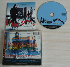 CD ALBUM ATOMIC SWING A CAR CRASH IN THE BLUE 10 TITRES 1992