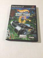 Hot Wheels: Stunt Track Challenge (Sony PlayStation 2, 2004) CIB Tested & Works