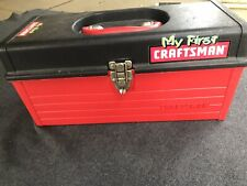 MY FIRST CRAFTSMAN TOOLBOX-WITH 60+ TOOLS AND HARDWARE-EXCELLENT CONDITION