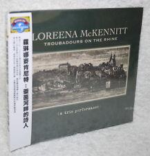 Loreena McKennitt Troubadours On The Rhine Taiwan CD w/OBI (digipak)
