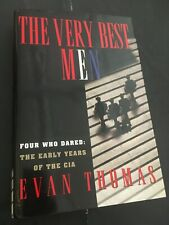 """""""THE VERY BEST MEN"""" *Evan Thomas HB/DJ-FIRST EDITION-SIGNED!"""