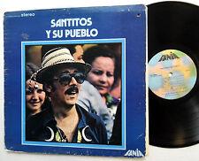 SANTOS COLON Santitos Y Su Pueblo Latin Bolero LP