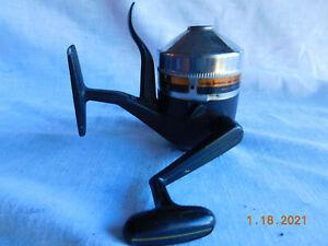 VTG Zebco Omega 154 Medium Closed Face Spinning Reel Trigger Cast Release