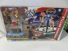 WWE Mattel Ringside Battle Playset John Cena Walmart Exclusive ZQ