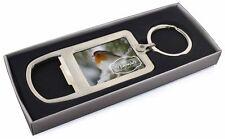 Little Robin Red Breast Chrome Metal Bottle Opener Keyring in Box Gi, Robin-1MBO