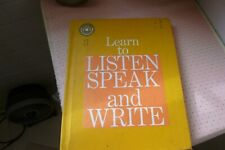 LEARN TO LISTEN SPEAK &WRITE- LEARN TO WRITE CURSIVE (english)