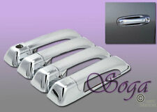 FOR 2010-2017 DODGE RAM 2500 3500 OVERLAY CHROME DOOR HANDLE COVER COVERS 8PCS